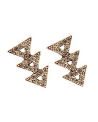 House of Harlow 1960   Pink Tessellation Earrings   Lyst