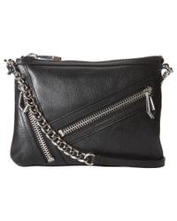 Botkier - Black Flatiron Cross Body Bag - Lyst