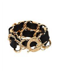 CC SKYE | Metallic Double Wrap Bracelet | Lyst