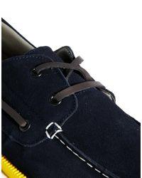 Bellfield - Blue Boat Shoes for Men - Lyst