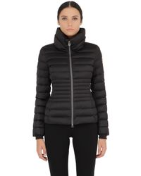 Colmar - Black Quilted Nylon Down Jacket - Lyst
