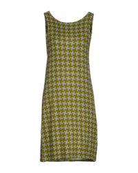 Siyu   Green Short Dress   Lyst