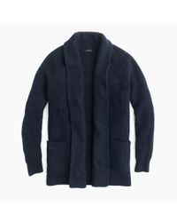 J.Crew | Blue Petite Open Cardigan Sweater for Men | Lyst