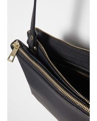 Forever 21 | Black Faux Leather Dual Crossbody You've Been Added To The Waitlist | Lyst