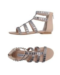 Steve Madden | Natural Sandals | Lyst