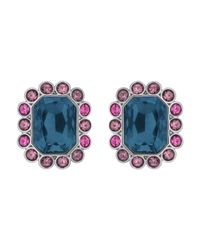 Swarovski | Multicolor Darling Pierced Earrings | Lyst