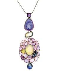 Sharon Khazzam - Multicolor One Of A Kind Joelle Necklace With Detachable Pendant - Lyst