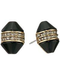 House of Harlow 1960 - Metallic Corona Crystal Stud Earrings - Lyst