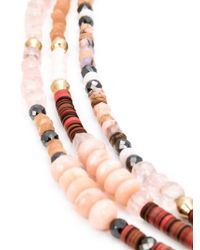 Royal Nomad Jewelry - Brown Mixed Stone Beaded Necklace - Lyst