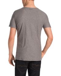 BOSS Orange | Gray T-shirt 'theroux 1' In Cotton for Men | Lyst