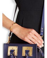 Vita Fede | Metallic Mini Titan Gold-plated Bracelet | Lyst