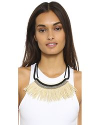 Fiona Paxton - Natural Freja Necklace - Cream - Lyst