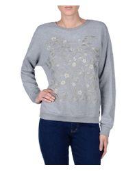Napapijri | Gray Sweatshirt | Lyst