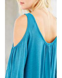 Kimchi Blue - Blue Taylor Cold Shoulder Top - Lyst