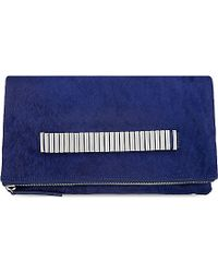 McQ | Blue Pony Fover Clutch | Lyst