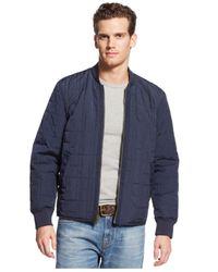 Tommy Hilfiger - Blue Sheridan Reversible Jacket for Men - Lyst