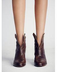 Free People - Brown Adagio Heeled Boot - Lyst