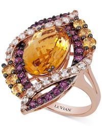 Le Vian | Pink Crazies Collection Multi-stone Ring (7-3/4 Ct. T.w.) In 14k Rose Gold, Only At Macy's | Lyst