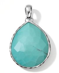 Ippolita | Blue Giant Turquoise Teardrop Enhancer | Lyst