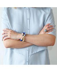 Hring Eftir Hring | Blue Pirouette Bracelet Sailing | Lyst