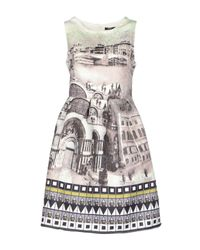 Care Of You - White Short Dress - Lyst