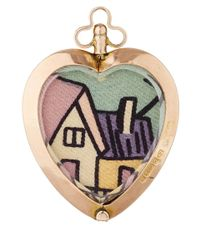 Annina Vogel - Metallic Gold Vintage Dog Locket - Lyst