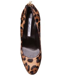 Brian Atwood - Multicolor India Pumps in Leopard Ponyhair - Lyst