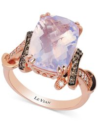 Le Vian | Purple Lavender Quartz (5-1/10 Ct. T.w.) And Diamond (1/3 Ct. T.w.) Ring In 14k Rose Gold | Lyst