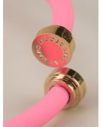 Marc By Marc Jacobs - Pink Thin Bracelet - Lyst