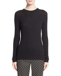Rag & Bone | Black 'elise' Wool Blend Sweater | Lyst