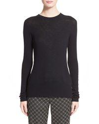 Rag & Bone - Black 'elise' Wool Blend Sweater - Lyst