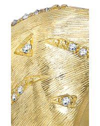 Venyx   Metallic 18k Yellow Gold Tiger Ray Ring   Lyst