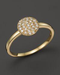Dana Rebecca | 14k Yellow Gold And Diamond Lauren Joy Medium Ring | Lyst