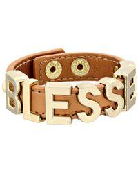 BCBGeneration - Metallic Affirmation Blessed Bracelet - Lyst