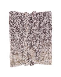 Ugg | Brown Grand Meadow Novelty Cable Snood | Lyst
