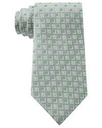 Geoffrey Beene - Green Dimension Neat Tie for Men - Lyst
