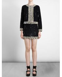 Ashish - Metallic Jewelled Trim Jacket - Lyst