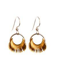 Alice Menter | Metallic Lexi Earrings | Lyst