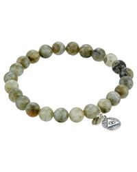 Chan Luu | Natural 7 1/2' Labradorite Stretchy Single Bracelet for Men | Lyst