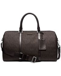 Michael Kors | Brown Jet Set Travel Shadow Medium Duffel for Men | Lyst