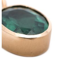 Irene Neuwirth | Green 18kt Rose Gold And Tourmaline Pendant | Lyst