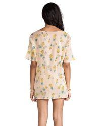 Tigerlily | Sona Tee Dress in Blush | Lyst