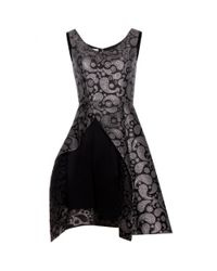 Stella McCartney - Black Cindy Jacquard Dress - Lyst