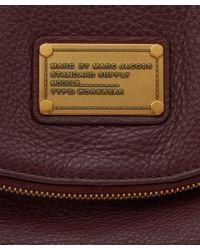 Marc By Marc Jacobs - Purple Burgundy Classic Q Mariska Backpack for Men - Lyst