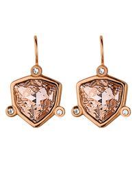 Dyrberg/Kern | Pink Lumines Earring | Lyst