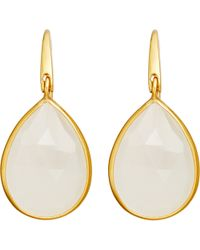 Astley Clarke | Metallic Large Stilla Moonstone Earrings | Lyst