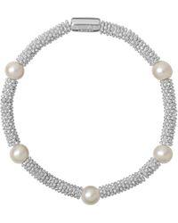 Links of London   Metallic Effervescence Star Extra-small Sterling Silver Bracelet   Lyst