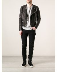 Sly010 - Black Classic Biker Jacket for Men - Lyst