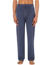 Derek Rose | Blue Finley Cashmere Pyjama Bottoms for Men | Lyst