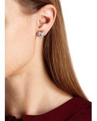 Vivienne Westwood | Metallic Swarovski Crystal-embellished Heart Earrings | Lyst
